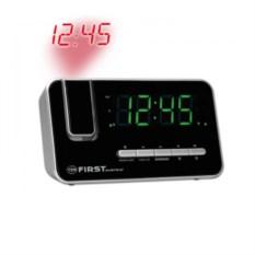 Кварцевые радиочасы с проектором First 1.2, FM и календарь
