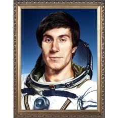 Интересный портрет космонавту
