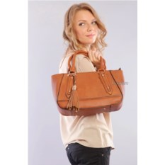 Коричневая женская сумка Giovanna Milano brown