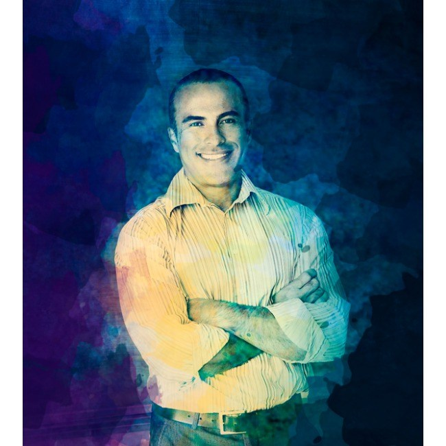 Портрет мужчины в стиле Гранж