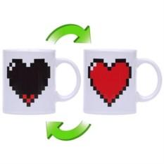 Термокружка Горячее сердце