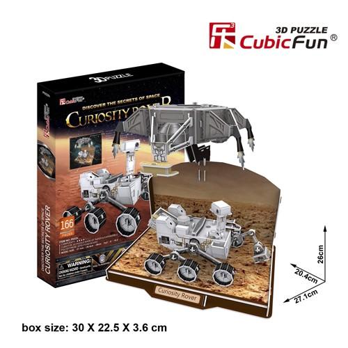 3D пазл Cubic Fun Марсоход Кьюриосити