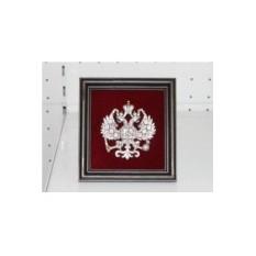 Панно Малый Имперский Герб (настольный), размер 16Х17 см