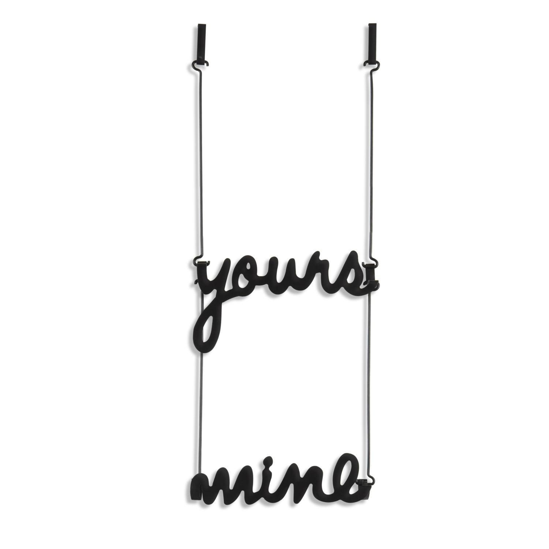 Вешалка на дверь Yours and Mine