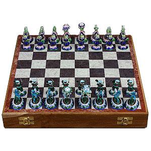 Шахматы. Cербряные воины