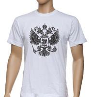 Футболка Двуглавый орел, шелкография
