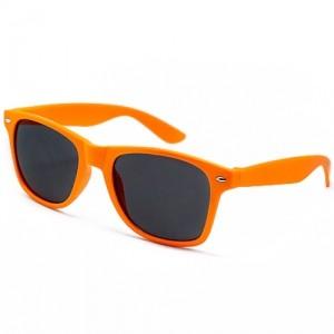 Очки Wayfarer, оранжевые