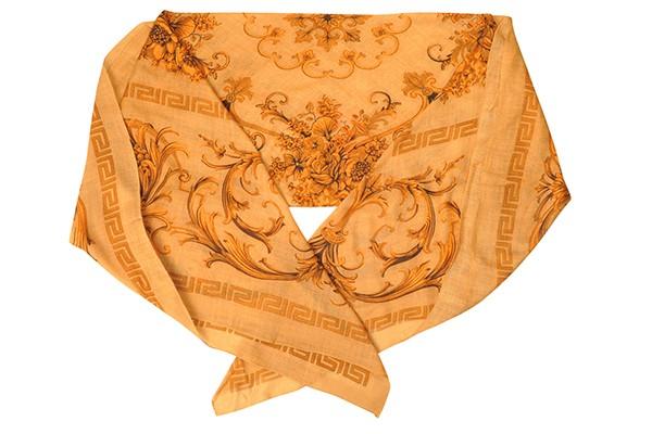 Песочный женский платок Leo Ventoni (шерсть)