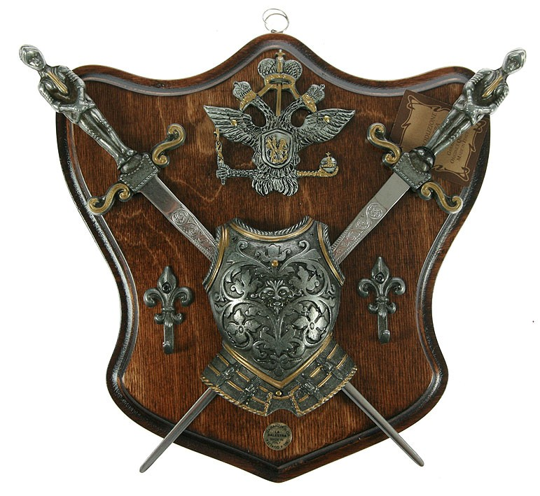 Коллаж Рыцарские трофеи