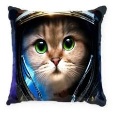Подушка Кот-космонавт