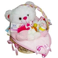 Подарочная корзина С рождением девочки!