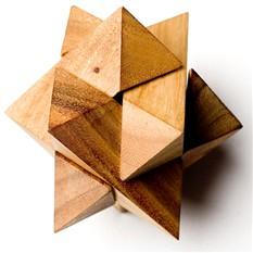 Головоломка деревянная - Эпсилон