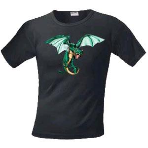 Футболка «Изумрудный дракон»