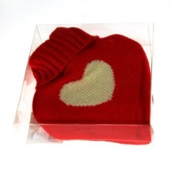 Декоративная грелка Сердце – подарок на 14 февраля