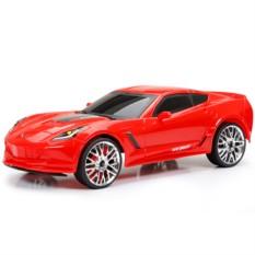 Машинка New Bright&Soma Corvette (цвет — красный)