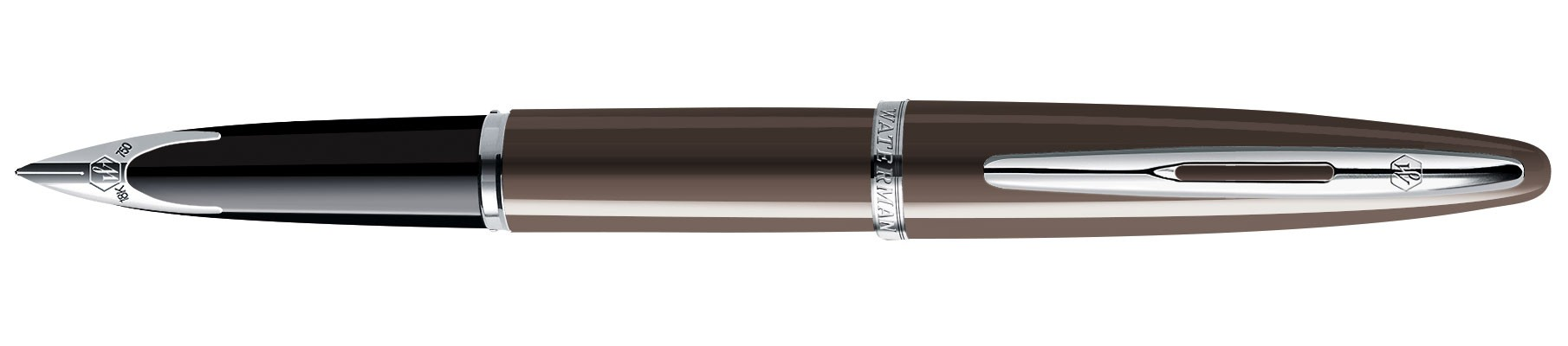 Перьевая ручка Waterman Carene Frosty Brown Lacquer ST
