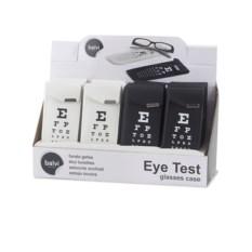 Черный футляр для очков Eye Test