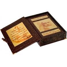 Книга Леонардо да Винчи (в коробе)
