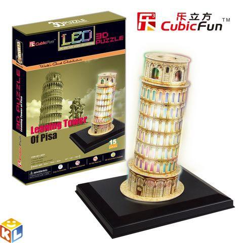 3D Пазл Пизанская башня с иллюминацией
