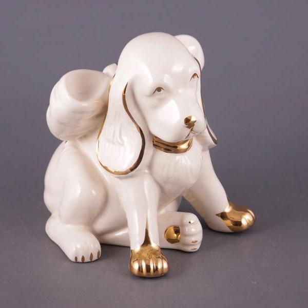 Фигурка Собака белая
