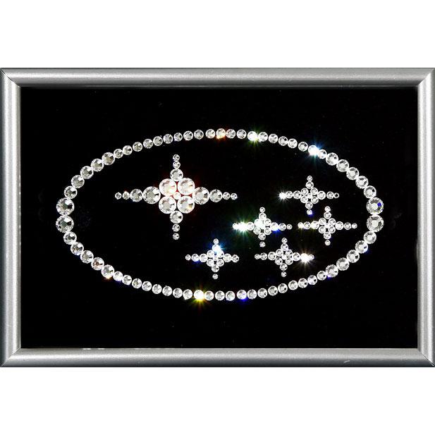 Картина из кристаллов Subaru