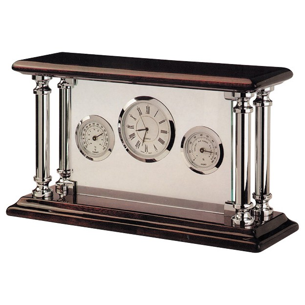 Часы, термометр и гигрометр