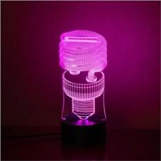 3D-светильник Лампочка