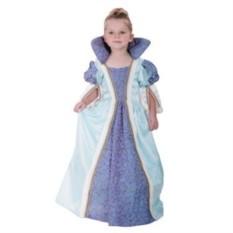 Детский карнавальный костюм Принцесса в голубом