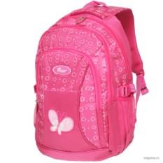 Розовый рюкзак Polar School Бабочка
