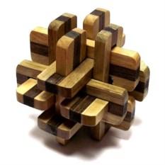 Деревянная головоломка Ежи