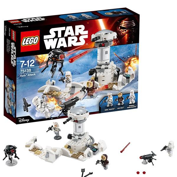 Конструктор Lego Star Wars  Нападение на Хот