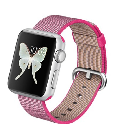 Apple Watch Sport 38mm with Woven Nylon (цвет Pink)
