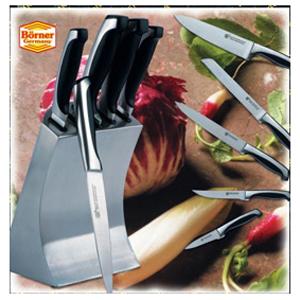 Набор из 5 ножей в металлической подставке TORONTO