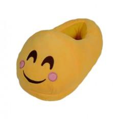 Тапочки Emoji Стесняшка. Розовые щечки