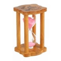 Розовые песочные часы Чашка кофе