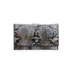 Женский черный кожаный кошелек G.Ferretti