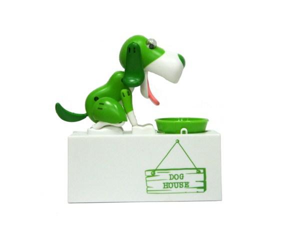 Интерактивная копилка Голодный Пес (зеленый)