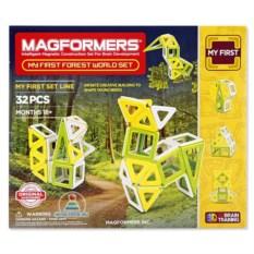 Магнитный детский конструктор Magformers Forest World Set