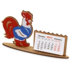 Настольный календарь Петушок в жилетке