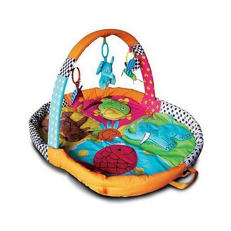 Развивающий коврик «Веселый зоопарк»
