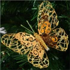 Декоративное украшение Бабочка, высота 12 см