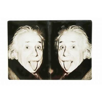 Обложка на паспорт Энштейн дразнится