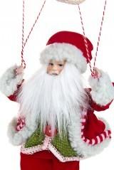 Новогоднее украшение Дед Мороз на парашюте