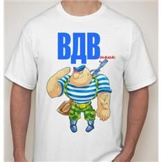 Мужская футболка ВДВшник