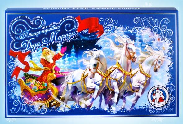 Конфетный набор «Птица-тройка Деда Мороза»