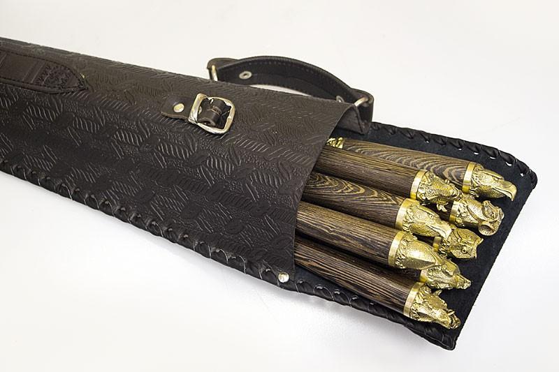 Шашлычный набор «Охота №3» на 8 шампуров