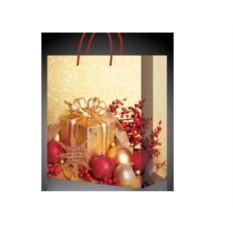 Оригинальный подарочный новогодний пакет