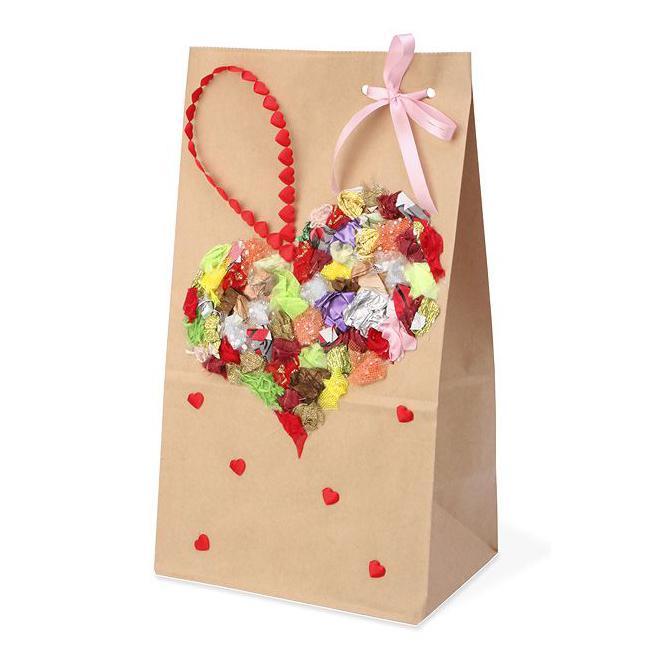 Пакет «Разноцветное сердце»