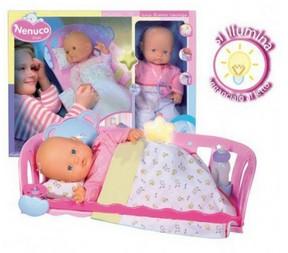 Набор Кукла Ненуко с кроваткой