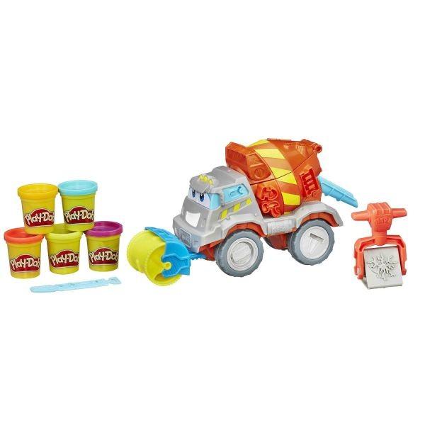 Набор с пластилином Play-Doh Задорный Цементовоз Вова